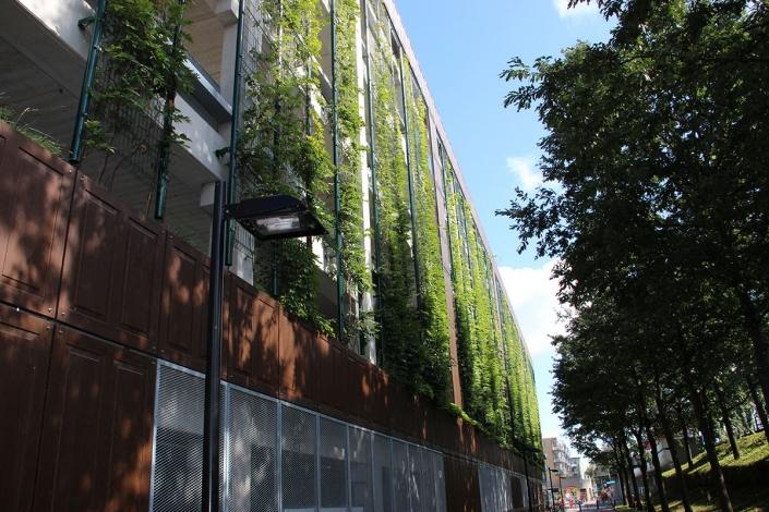 Parkeergarage Brooklyn - Schadenberg Stedegroen