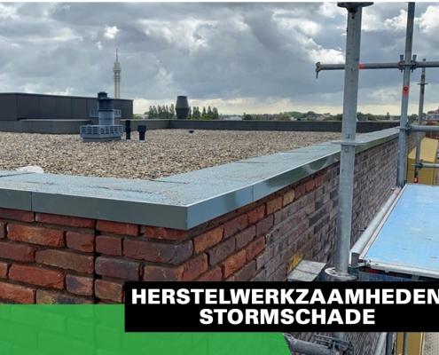Schadenberg Dakwerken Herstelwerkzaamheden Stormschade Dak Metselwerk