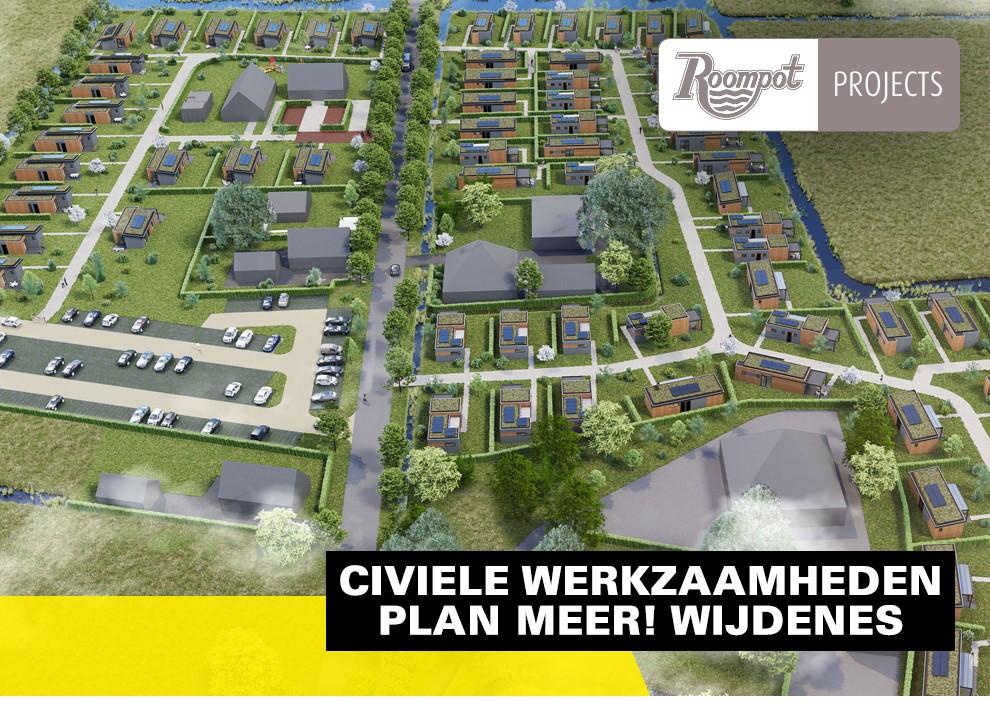 Schadenberg Infratechniek Civiele Werkzaamheden Plan MEER Roompot Projects