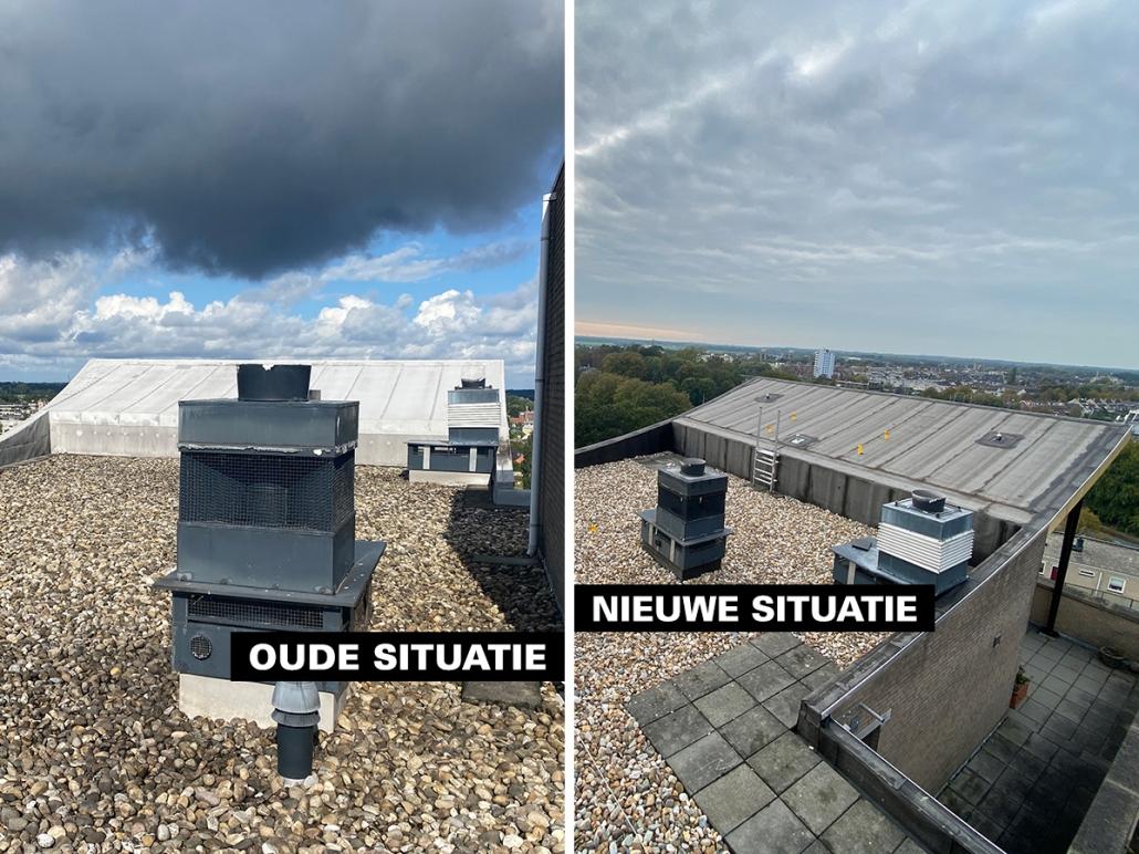 Renovatie wooncomplex Leiden - Schadenberg Dakwerken