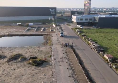 Schadenberg Infratechniek bouwrijp maken Zevenhuis