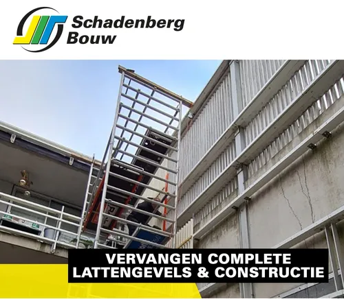 Schadenberg Bouw Vervangen Lattengevels