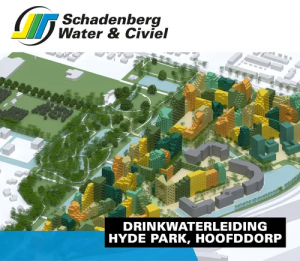 Scchadenberg Water & Civiel drinkwaterleiding Hyde Park