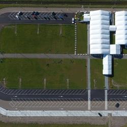Drone beelden Vaccinatielocatie Alkmaar