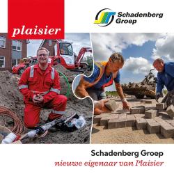 Schadenberg Groep nieuwe eigenaar Plaisier